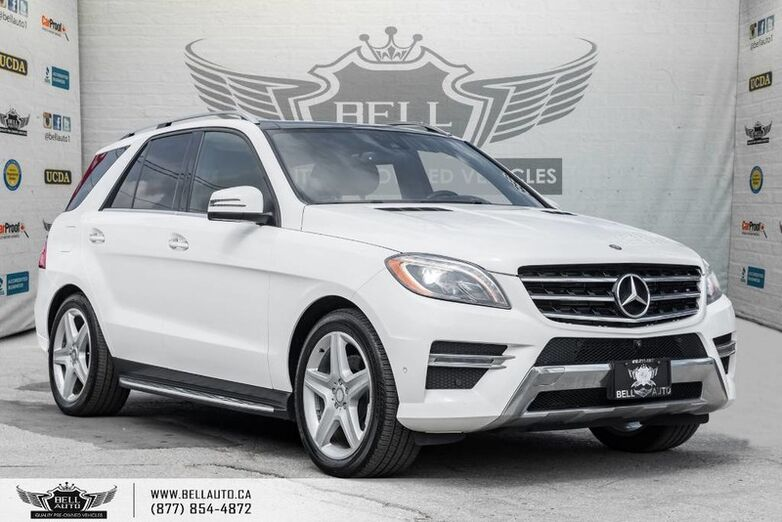 2015 Mercedes-Benz M-Class ML 350 BlueTEC, 4MATIC, NO ACCIDNENT, 360 CAM, NAVI, PANO ROOF Toronto ON
