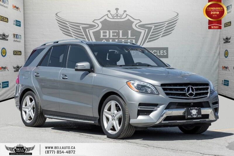 2015 Mercedes-Benz M-Class ML 350 BlueTEC, AWD, 360 CAM, NAVI, PANO ROOF, BLIND SPOT