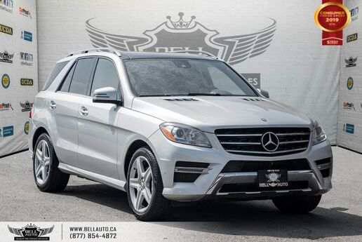 2015 Mercedes-Benz M-Class ML 350 BlueTEC, AWD, NAVI, 360 CAM, PANO ROOF, SENSORS Toronto ON