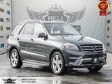2015 Mercedes-Benz M-Class ML 350 BlueTEC, AWD, NO ACCIDENT, NAVI, 360 CAM, B.SPOT Video
