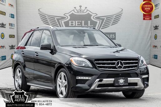 2015 Mercedes-Benz M-Class ML 350 BlueTEC, BACK-UP CAM, BLUETOOTH, NAVI, PANO ROOF, MEMORY SEAT Toronto ON
