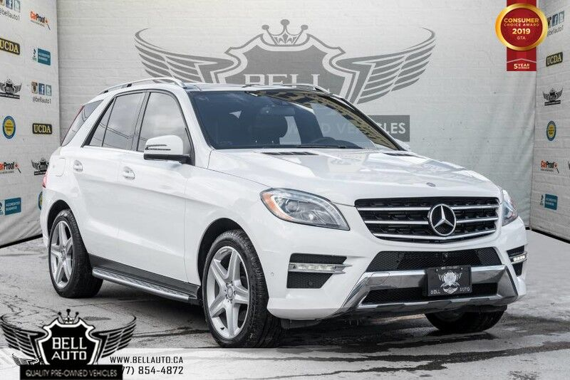 2015 Mercedes-Benz M-Class ML 350 BlueTEC, NAVI, PANO ROOF, 360 CAM, LEATHER/HEATED SEATS