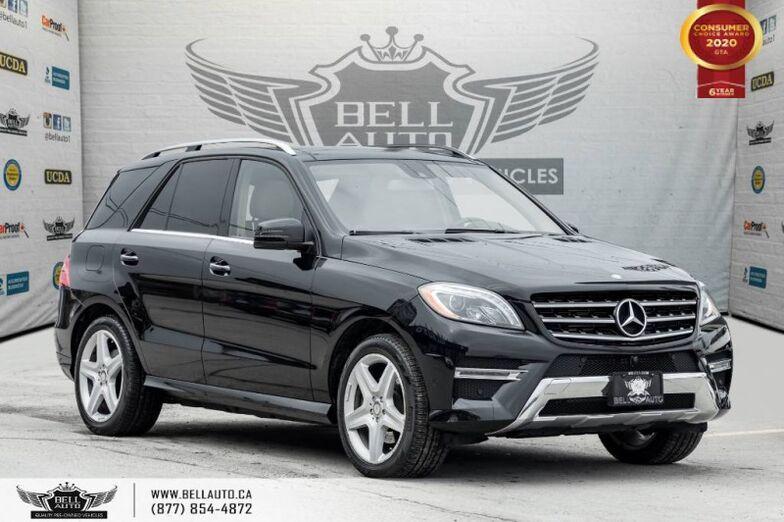 2015 Mercedes-Benz M-Class ML 350 BlueTEC, NO ACCIDENTS, AWD, NAVI, PANO, 360 CAM. Toronto ON