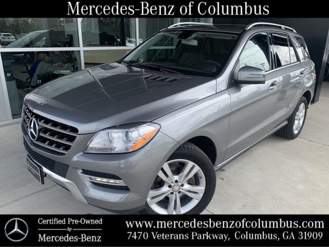 2015 Mercedes-Benz M-Class Palladium Silver Metallic Columbus GA