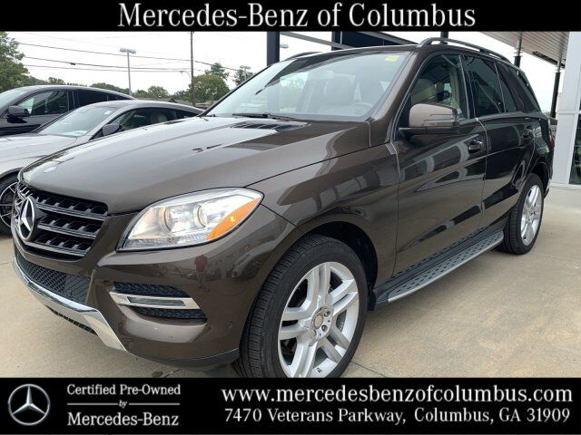 2015 Mercedes-Benz ML 350 D. BROWN