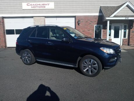 2015 Mercedes-Benz M-Class ML 350 East Windsor CT