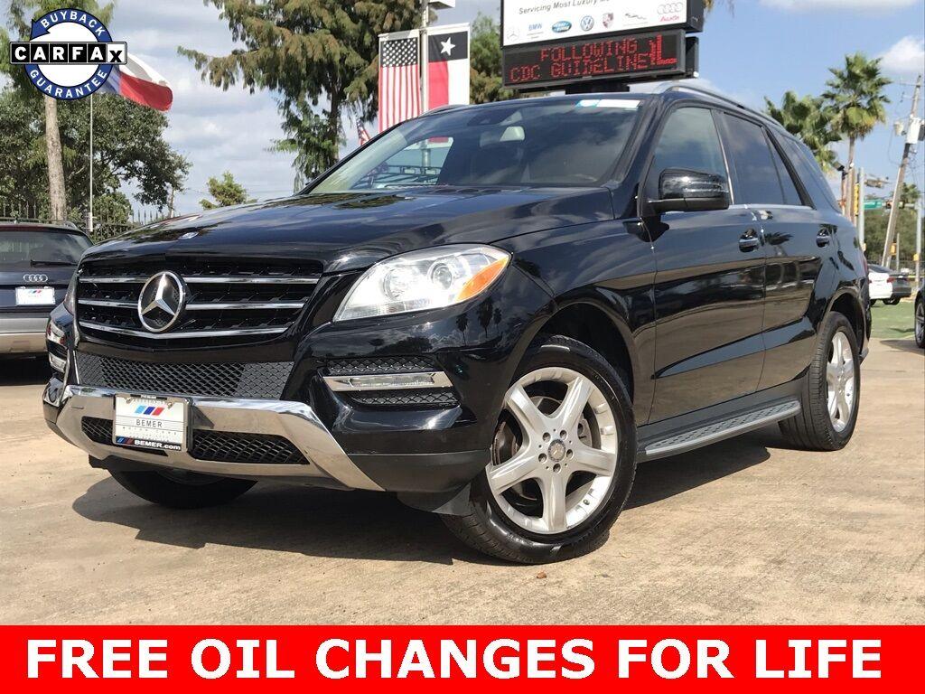 2015_Mercedes-Benz_M-Class_ML 350_ Houston TX