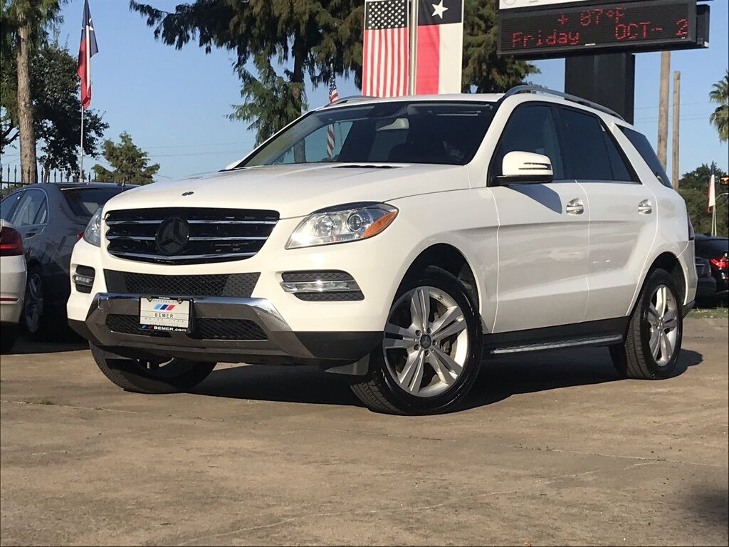 2015_Mercedes-Benz_M-Class_ML 350_ Houston TX