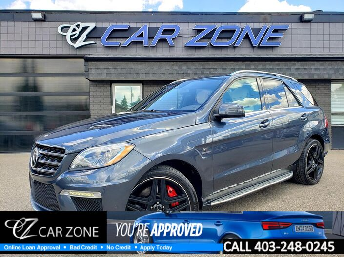 2015 Mercedes-Benz M-Class ML 63 AMG PERFORMANCE Calgary AB