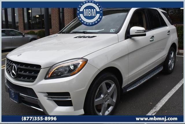 2015 Mercedes-Benz M-Class ML400 4MATIC® SUV Morristown NJ