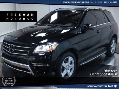 2015_Mercedes-Benz_ML 250_BlueTEC 4MATIC Back-Up Cam Blind Spot Assist_ Portland OR