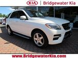 2015 Mercedes-Benz ML 350 4MATIC, Premium Package, Lane Tracking & Lighting Package, Navigation, Rear-View Camera, Bluetooth Technology, Heated Leather Seats, Panorama Sunroof, 19-Inch AMG Alloy Wheels,