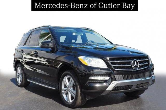 2015 Mercedes-Benz ML 350 Cutler Bay FL