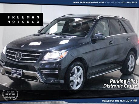 2015_Mercedes-Benz_ML 400_4MATIC Distronic Cruise 360 Cam Blind Spot Assist_ Portland OR