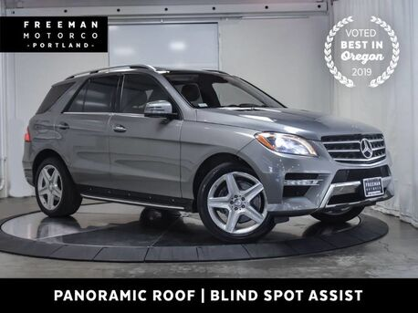 2015_Mercedes-Benz_ML 400_4MATIC Pano Lighting Package Blind Spot Assist_ Portland OR