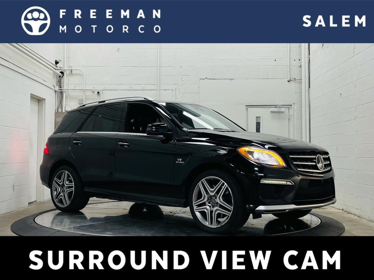 2015 Mercedes-Benz ML 63 AMG Performance Package Multi-Contour Seats Salem OR