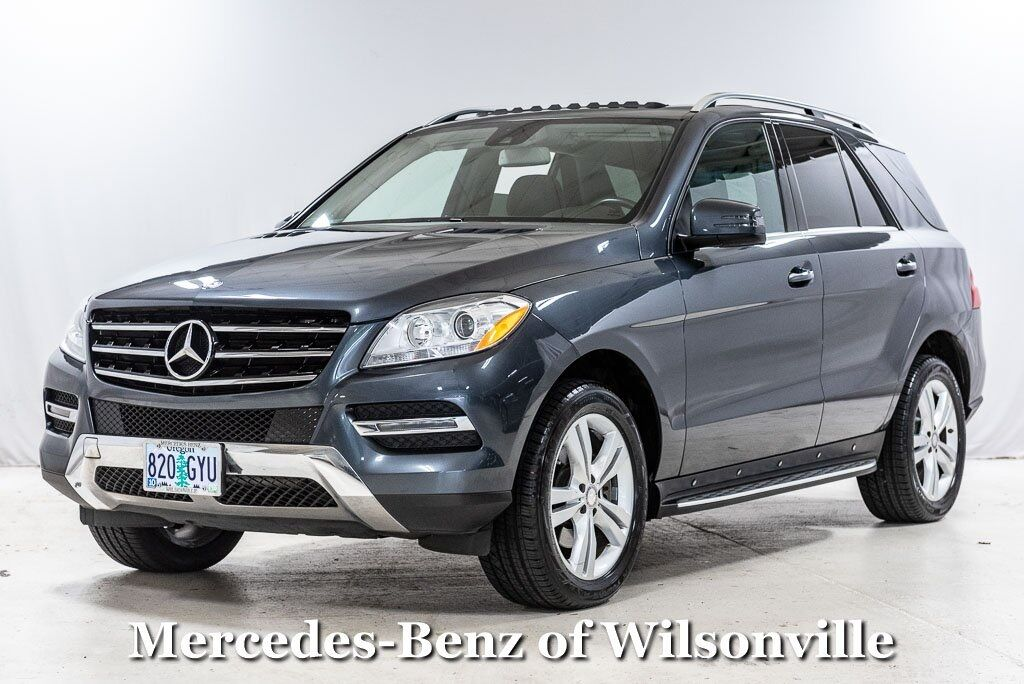 2015 Mercedes-Benz ML ML 350 4MATIC® SUV Wilsonville OR