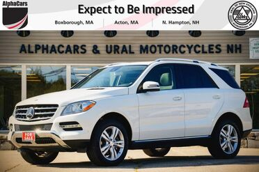 2015_Mercedes-Benz_ML350_4Matic_ Boxborough MA