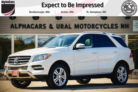2015 Mercedes-Benz ML350 4Matic Boxborough MA