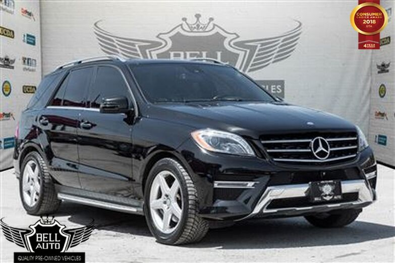 2015 Mercedes-Benz ML350 BlueTec AMG NAVI PANO-SUNROOF LEATHER BACKUP CAM Toronto ON
