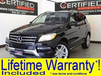 Mercedes-Benz ML350 PREMIUM PKG ATTENTION ASSIST NAVIGATION KEYLESS GO SUNROOF LEATHER 2015