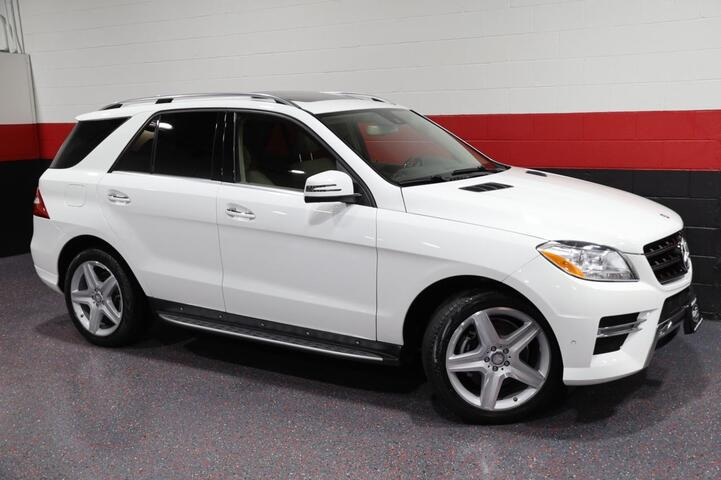 2015 Mercedes-Benz ML400 AMG Sport 4-Matic 4dr Suv Chicago IL