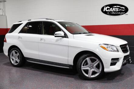 2015_Mercedes-Benz_ML400 AMG Sport_4-Matic 4dr Suv_ Chicago IL