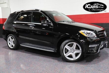 2015_Mercedes-Benz_ML400_AMG Sport 4-Matic 4dr Suv_ Chicago IL