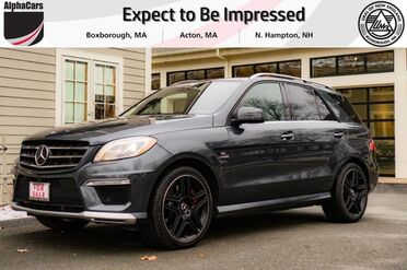 2015_Mercedes-Benz_ML63_AMG_ Boxborough MA