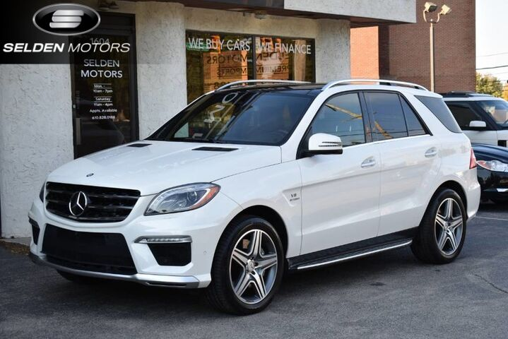 2015_Mercedes-Benz_ML63_AMG_ Conshohocken PA