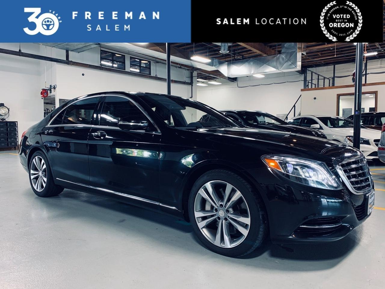 2015 Mercedes-Benz S 550 4MATIC Distronic Plus Lane Keep Assist Salem OR