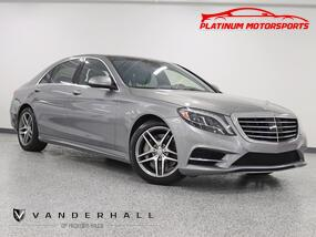 Mercedes-Benz S 550 4Matic 1 Owner Sport Pkg Dynamic Seats 360 Camera Pano Nav Back Up Camera Fully Loaded 2015