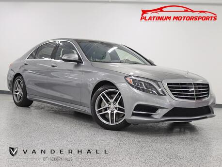 2015_Mercedes-Benz_S 550 4Matic_1 Owner Sport Pkg Dynamic Seats 360 Camera Pano Nav Back Up Camera Fully Loaded_ Hickory Hills IL