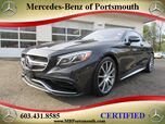 2015 Mercedes-Benz S-Class AMG® 63 Coupe