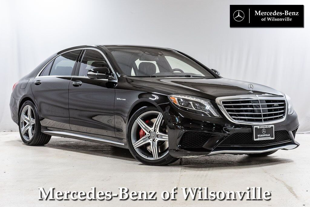2015 Mercedes-Benz S-Class AMG® S 63 4MATIC® Wilsonville OR