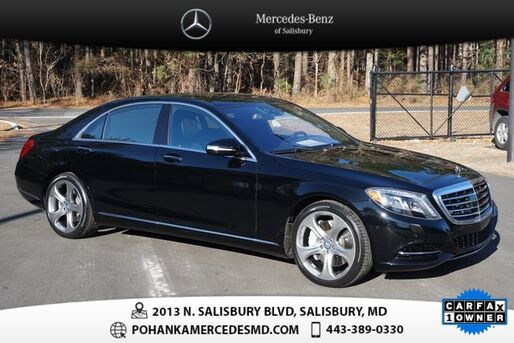 2015_Mercedes-Benz_S-Class_S 550  ** MERCEDES-BENZ CERTIFIED  **_ Salisbury MD
