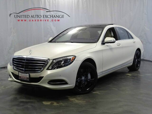 2015 Mercedes-Benz S-Class S 550 4-Matic / / AWD /Panoramic Roof/Premium 1 Package / MSRP Price : $ 118555 **Loaded** Addison IL