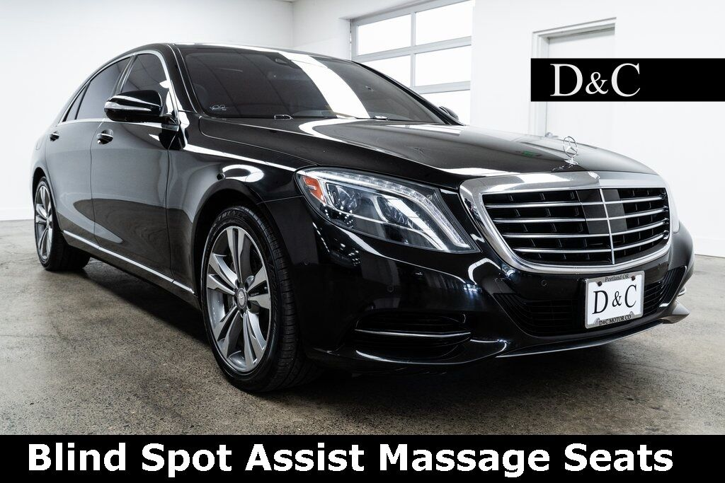 2015 Mercedes-Benz S-Class S 550 4MATIC Blind Spot Assist Massage Seats Portland OR