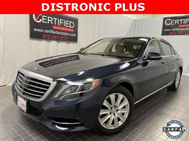 2015 Mercedes-Benz S-Class S 550 4MATIC DISTRONIC PLUS W/ STEERING ASSIST Dallas TX