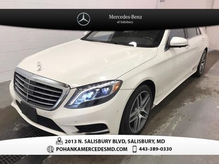 2015_Mercedes-Benz_S-Class_S 550 4MATIC®_ Salisbury MD