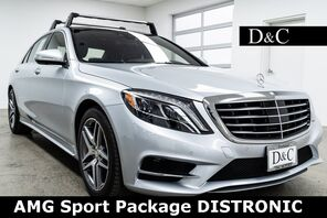 2015_Mercedes-Benz_S-Class_S 550 AMG Sport Package DISTRONIC_ Portland OR