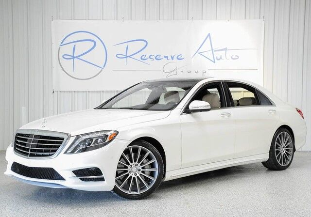2015 Mercedes-Benz S-Class S 550 AMG Sport Pano Roof The Colony TX