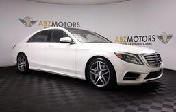 2015_Mercedes-Benz_S-Class_S 550 AMG,Blind Spot,A/C Seats,Distronic,360Cam_ Houston TX