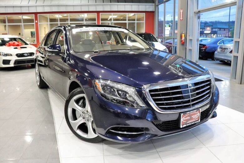 2015 Mercedes-Benz S-Class S 550 Carfax Certified ONE OWNER QUALITY CERTIFIED up to 10 YEAR Springfield NJ