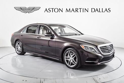 2015_Mercedes-Benz_S-Class_S 550_ Dallas TX