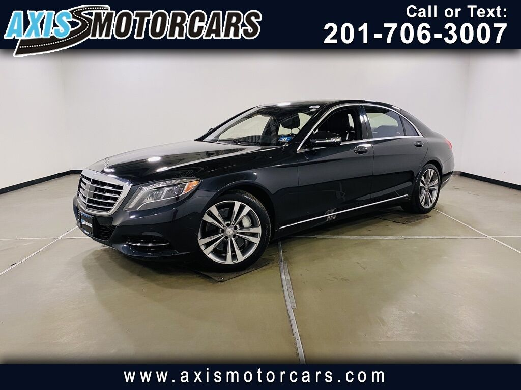 2015 Mercedes-Benz S-Class S 550 Jersey City NJ