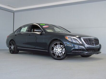 2015_Mercedes-Benz_S-Class_S 550_ Merriam KS