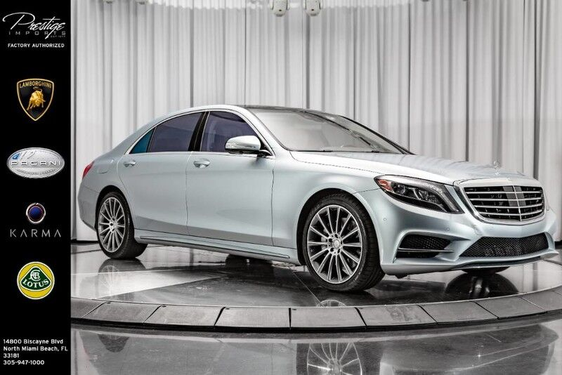 2015_Mercedes-Benz_S-Class_S 550_ North Miami Beach FL