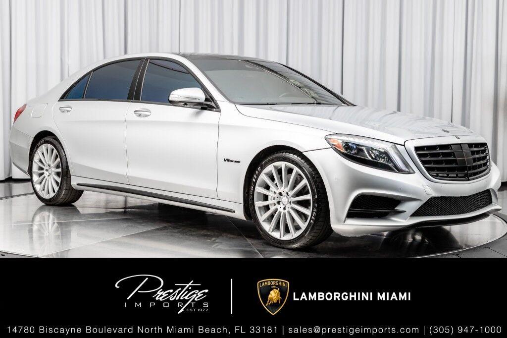 2015_Mercedes-Benz_S-Class_S 550_ North Miami Beach FL