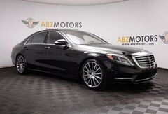2015_Mercedes-Benz_S-Class_S 550 Sport AMG,360 Camera,Rear Shades,Pano_ Houston TX